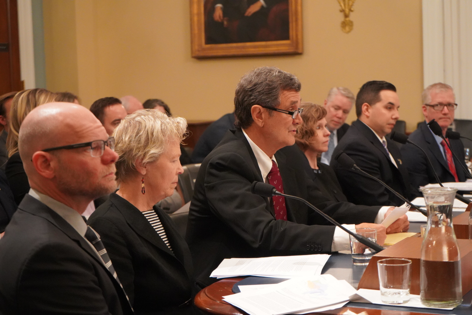 Bill Shedd, president of the American Fishing Tackle Company (AFTCO) and a 25-year Chairman of the American Sportfishing Association's (ASA) Government Affairs committee, testifies before Congress about the devastating impact that drift gillnets have on sportfish populations.