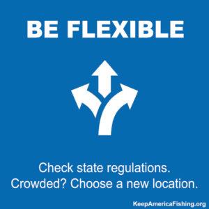 Responsible Recreation Infographic Be Flexible
