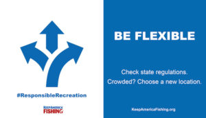 Responsible Recreation Infographic - Be Flexible
